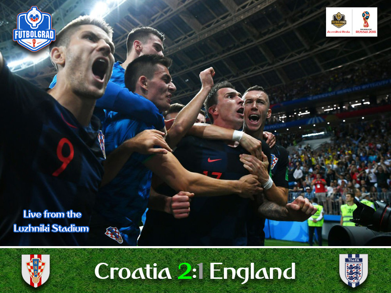 Croatia make history and advance to their first ever final in the expense of England