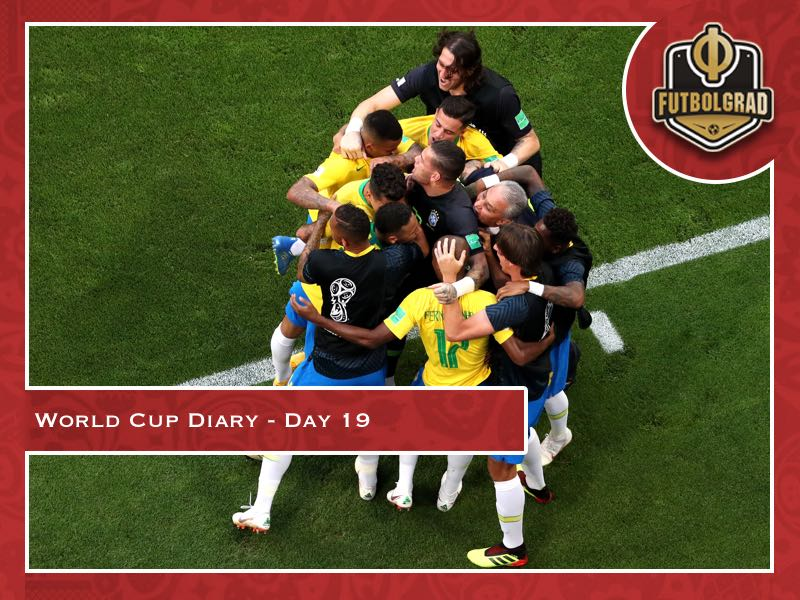 World Cup Diary – Day 19: Brazil and Belgium get the job done