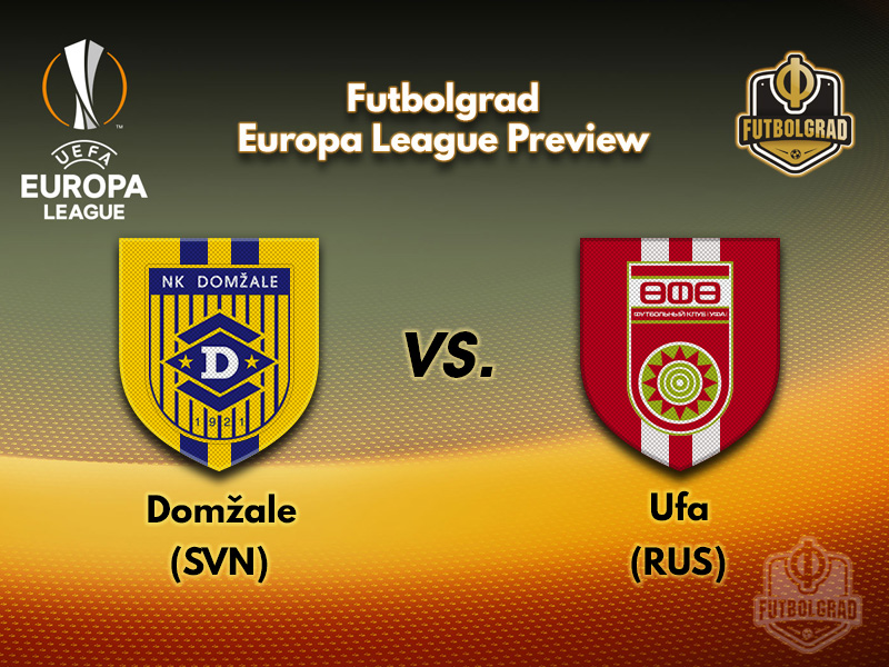 Domzale and Ufa battle for a spot in the third qualifying round of the Europa League