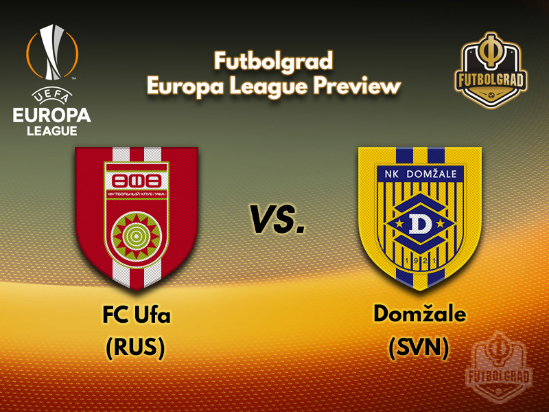 Ufa face Domžale in their first ever Europa League home game