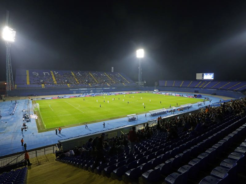 Dinamo Zagreb vs Shakhtar Donetsk will take place at Stadion Maksimir in Zagreb (Photo by Damir Sencar/EuroFootball/Getty Images)