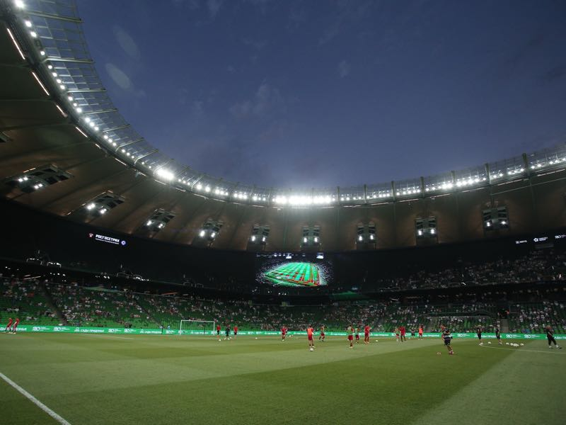 Krasnodar vs Trabzonspor will take place at the Krasnodar Stadium (Photo by Epsilon/Getty Images)