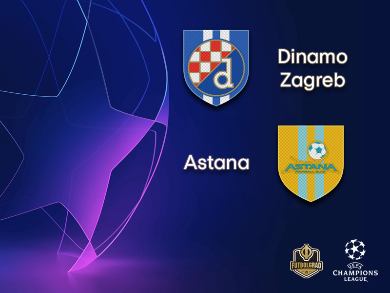 Dinamo Zagreb look to finish the job against Astana