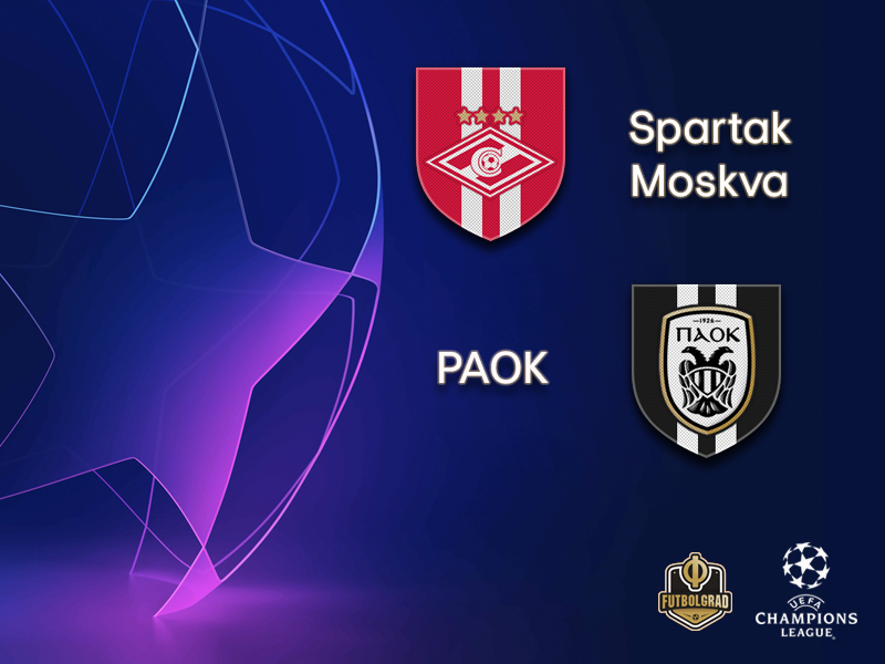 Spartak and PAOK set for a dramatic second leg finish