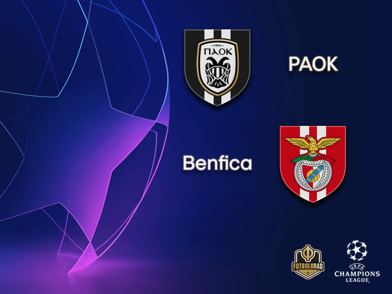 PAOK want to upset the apple-cart against Benfica