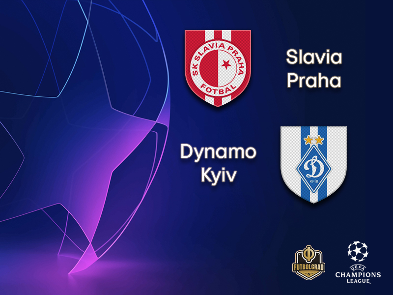 Slavia Praha and Dynamo Kyiv enter the race for the Champions League group stage