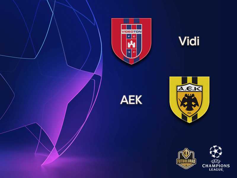Champions League playoffs – Vidi FC will try to hold off Greek champions AEK Athens