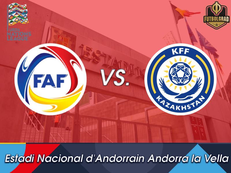 Kazakhstan are looking for three points in Andorra