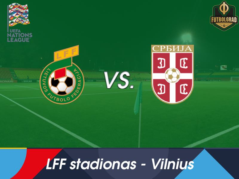 Serbia look to take command of Group 4 when they face Lithuania in Vilnius