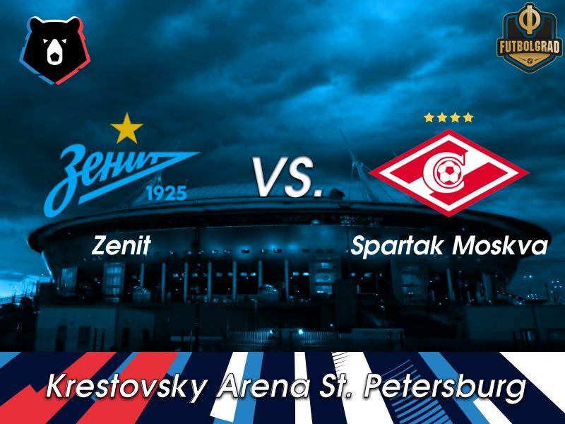 Zenit want to dominate a weakened Spartak Moscow side