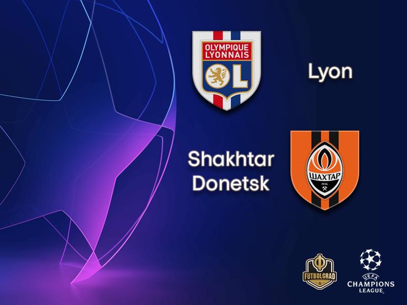 Olympique Lyon host Ukrainian powerhouse Shakhtar Donetsk