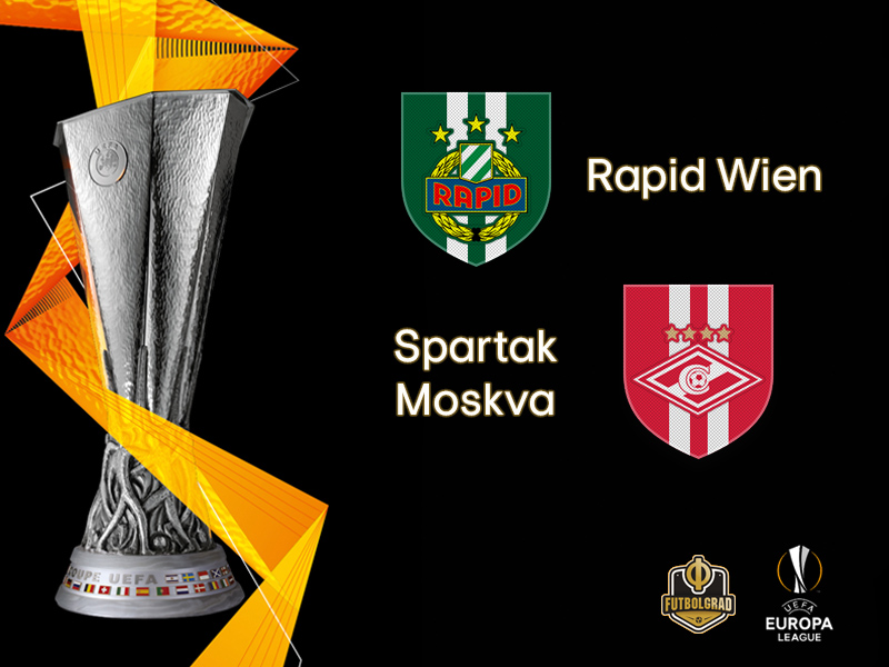 Rapid Vienna host Russian giants Spartak Moscow