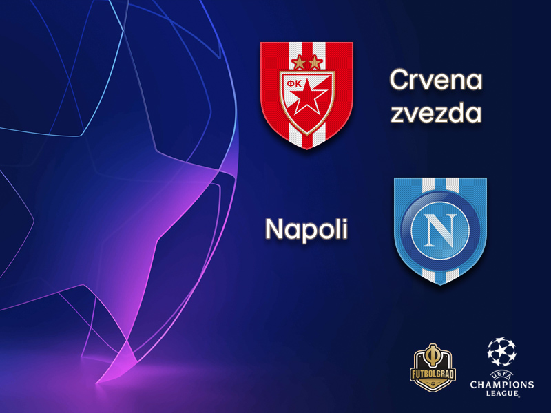 Crvena zvezda are looking to write history against Napoli