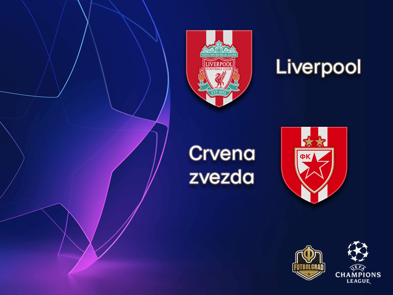 A depleted Crvena Zvezda face an uphill task at high flying Liverpool