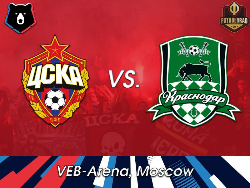 CSKA and Krasnodar look for consistency when they face each other in Moscow