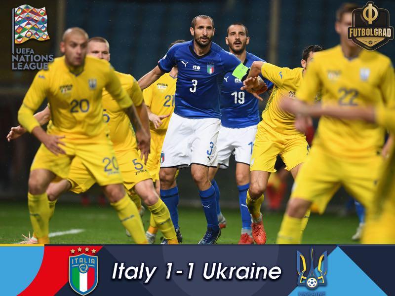 Ukraine impress in stalemate against Italy