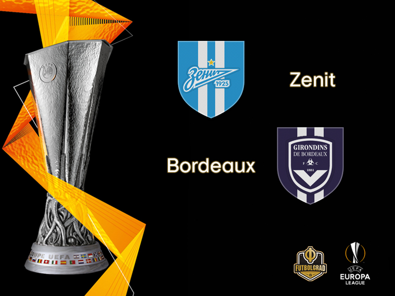 Europa League – Zenit want to regain momentum when they host French side Girondins Bordeaux