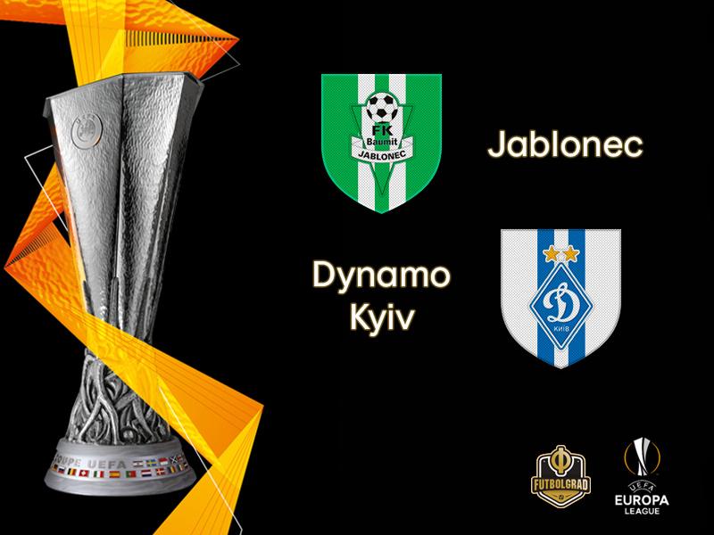 FK Jablonec host Dynamo Kyiv on matchday 2