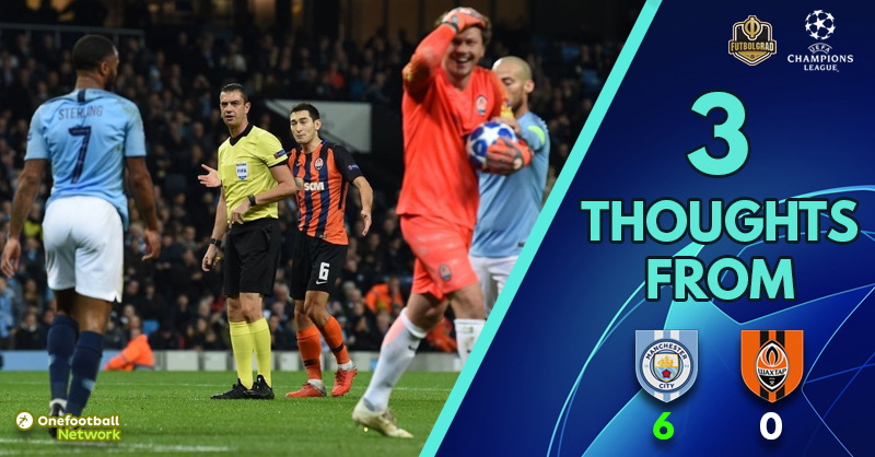 'Chasing shadows' and 'that penalty!' – Three Thoughts as Shakhtar fail to turn up in Manchester