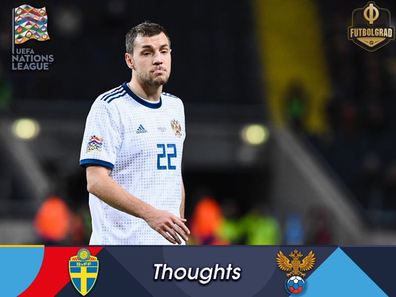 Exhausted Russia fall at the last hurdle – Three thoughts from Sweden v Russia