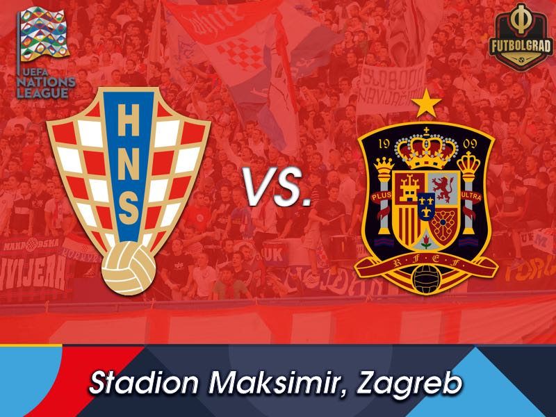Croatia want to fight off relegation when they host Spain in Zagreb