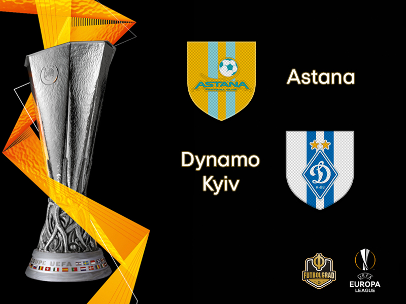 Dynamo Kyiv travel to Kazakhstan to face FC Astana