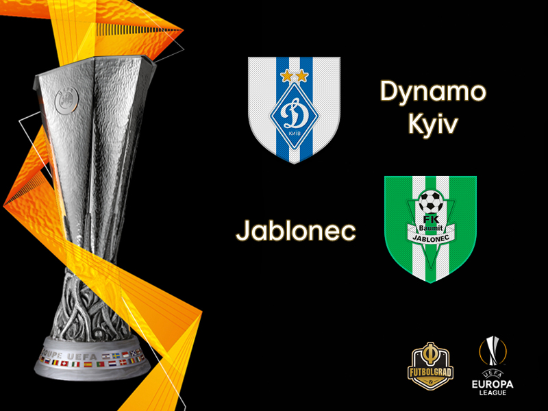 Dynamo Kyiv host Jablonec at the Olimpiyskyi