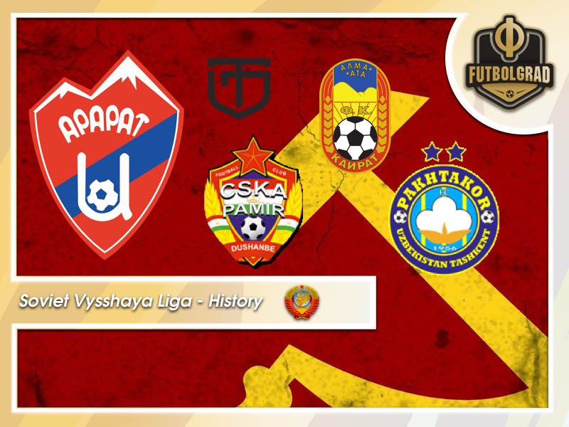 Soviet Vysshaya Liga History – The Five Most Exotic Clubs