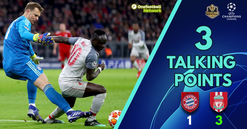 Bayern vs Liverpool – Champions League – Thoughts