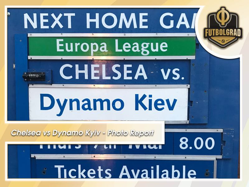 Dynamo Kyiv visit Chelsea – A Photo Report from London