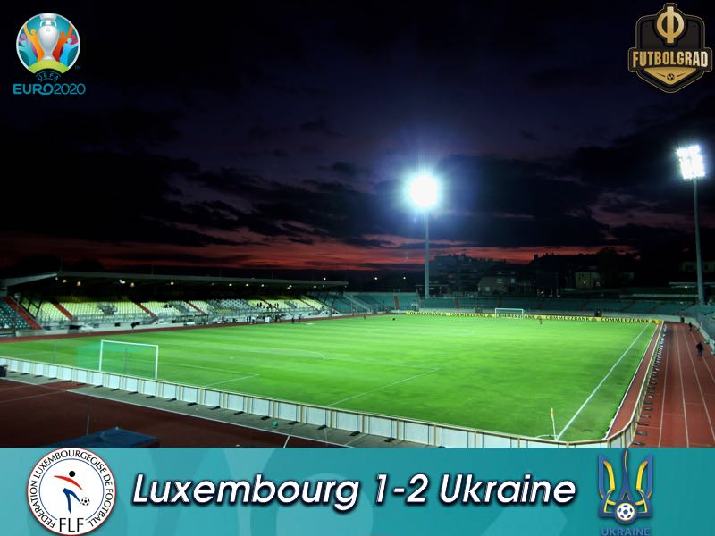 Ukraine survive scare in Luxembourg, top Group B