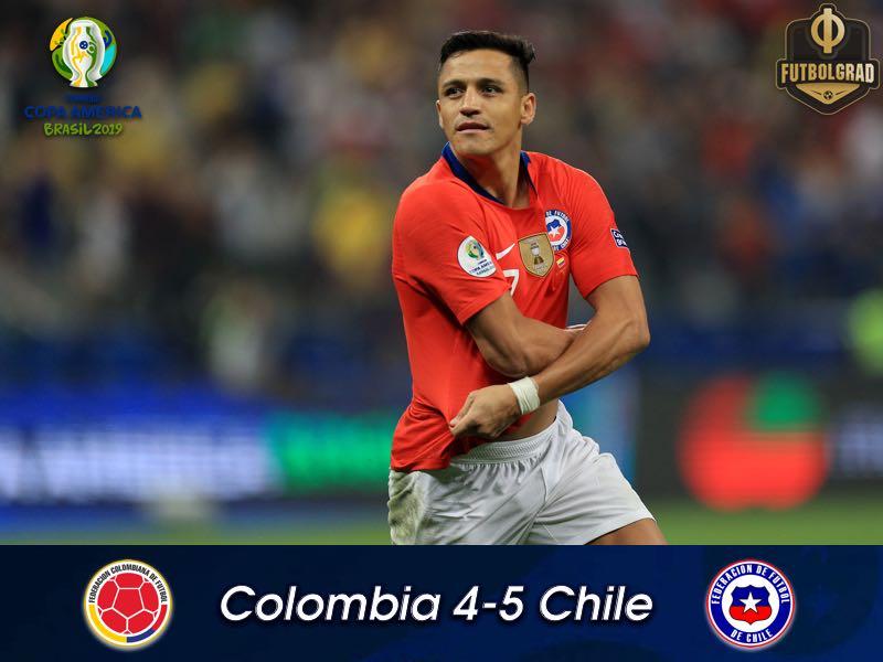 Colombia vs Chile – Copa America 2019 – Report