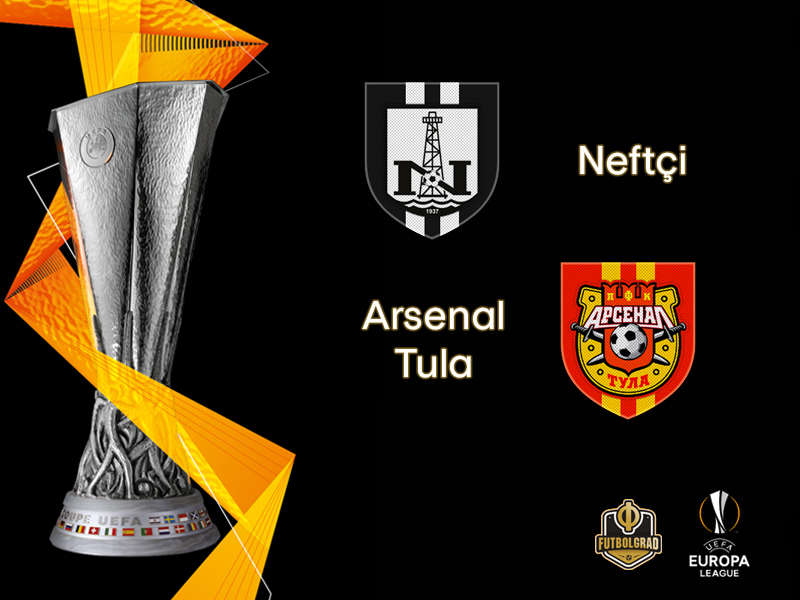 Europa League: Neftchi Baku want to see off Arsenal Tula