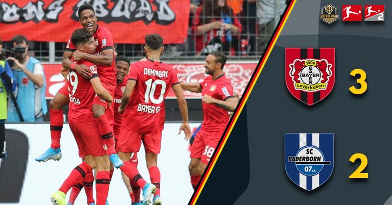 Bayer Leverkusen v Paderborn – Bundesliga – Report