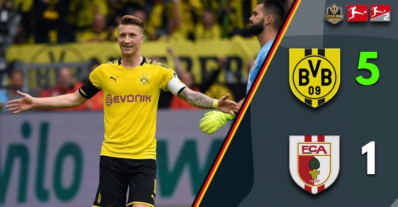Dortmund v Augsburg – Bundesliga – Report