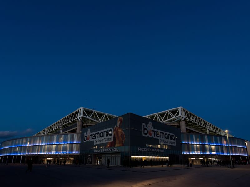 Espanyol vs Zorya Luhansk will take place at the RCDE Stadium in Barcelona (Photo by Alex Caparros/Getty Images)