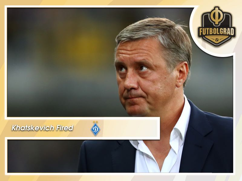 Dynamo Kyiv fire head coach Aleksandr Khatskevich