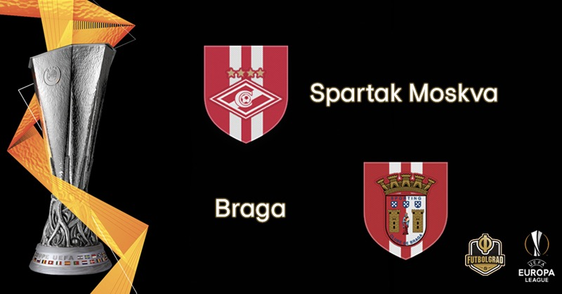 Spartak Moscow look to overcome deficit against Braga