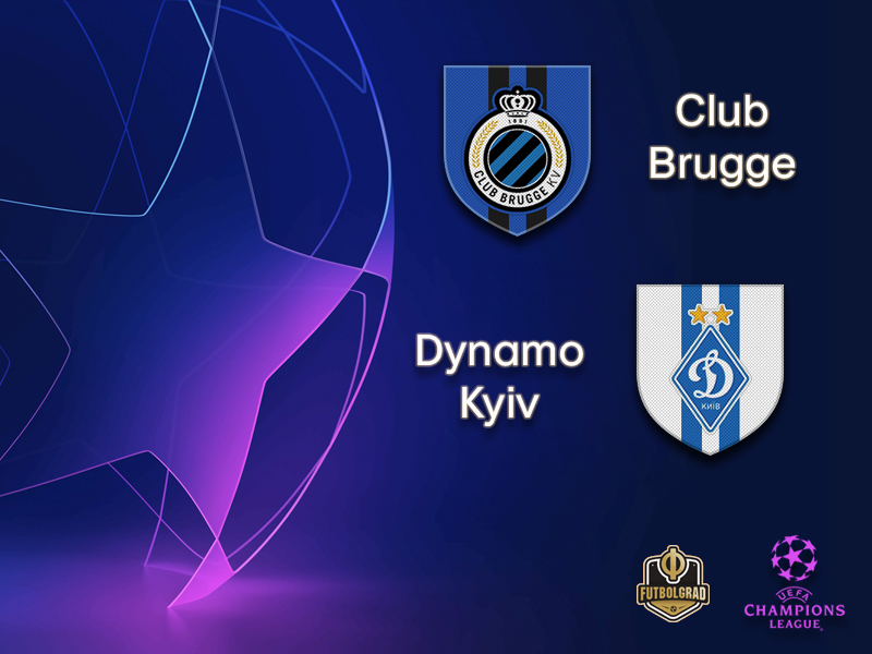 Brugge open Champions League campaign against Dynamo Kyiv