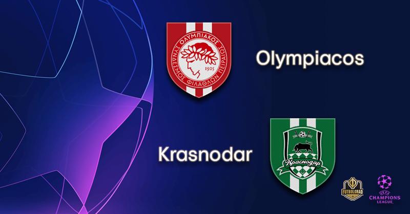 Olympiacos host Champions League newbie Krasnodar