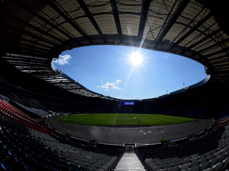 Scotland vs Russia will take place at Hampden Park (Photo by Mark Runnacles/Getty Images)