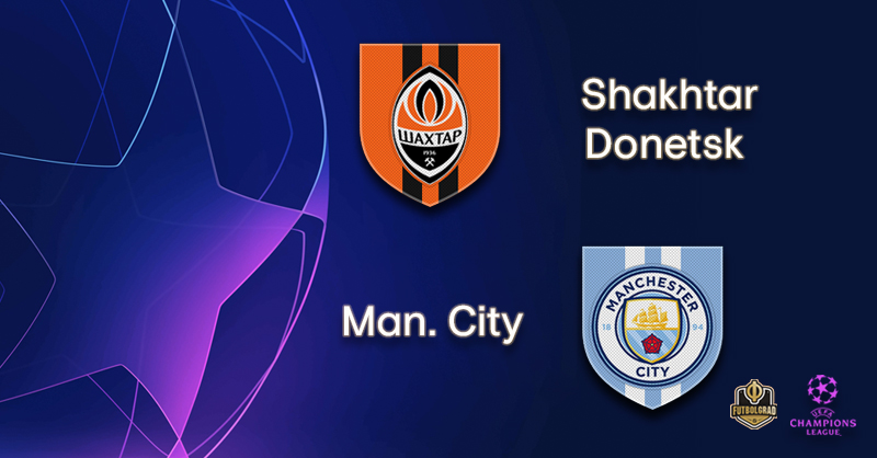Shakhtar Donetsk and Manchester City meet once again