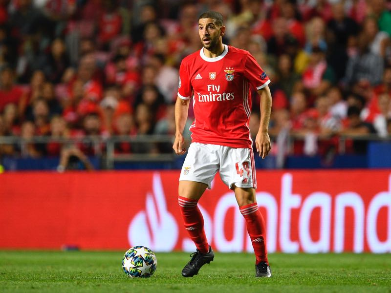 Adel Taarabt of SL Benfica in action during the UEFA Champions League group G match between SL Benfica and RB Leipzig at Estadio da Luz on September 17, 2019 in Lisbon, Portugal. (Photo by Octavio Passos/Getty Images)