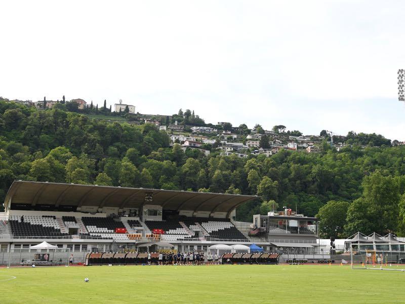 Lugano vs Dynamo Kyiv will take place at the Stadio di Cornaredo (Photo by Masahiro Ura/Getty Images)