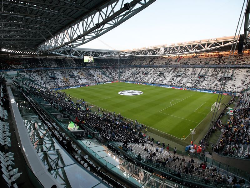 The Champions League match Juventus vs Lokomotiv Moscow will take place in the Juventus Stadium in Turin. (Photo by Emilio Andreoli/Getty Images)