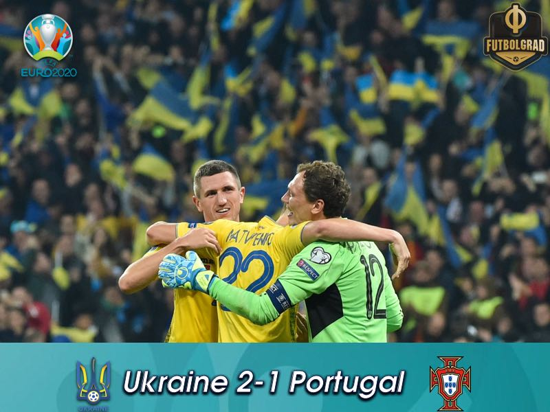 Ukraine Defeat Euro 2016 Champions Portugal, Advance to Euro 2020