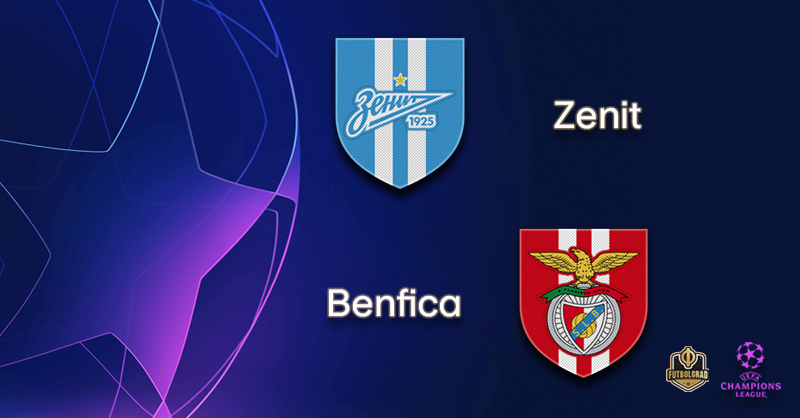 Zenit the favourites when they host Benfica