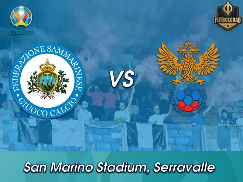 Minnows San Marino host already qualified Russia