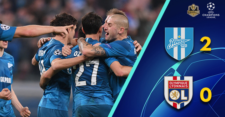 Artem Dzyuba leads Zenit to must-win over Olympique Lyon