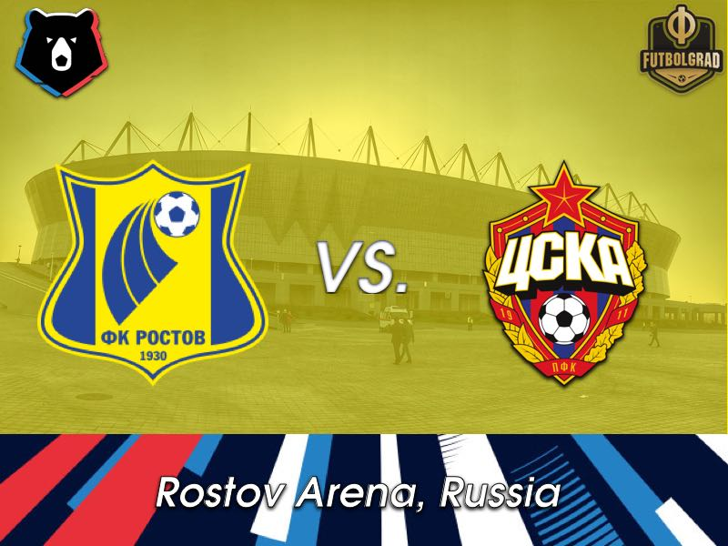 Rostov vs CSKA Moscow – The Match for the CL Spot